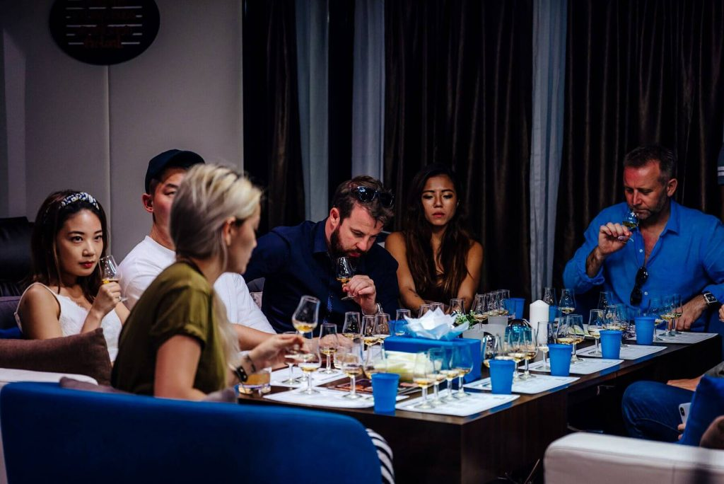 Enjoy a fun evening of whiskey tasting on board one of our gorgeous luxury yacht