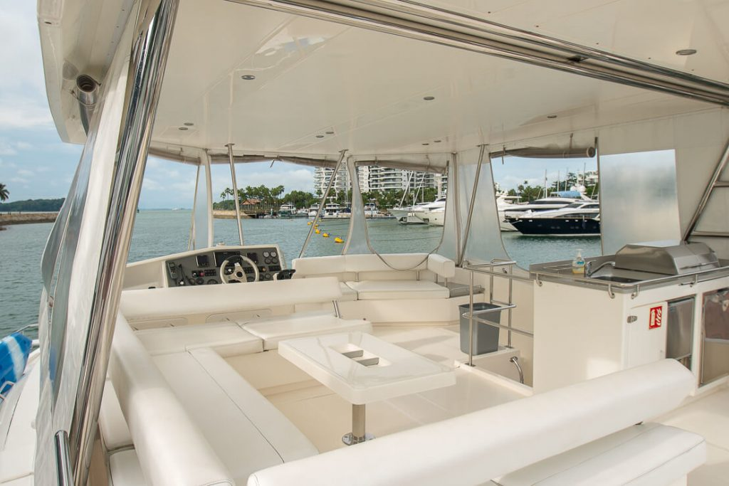 Our power catamaran - Leopard 51 - can easily accommodate 33 guests