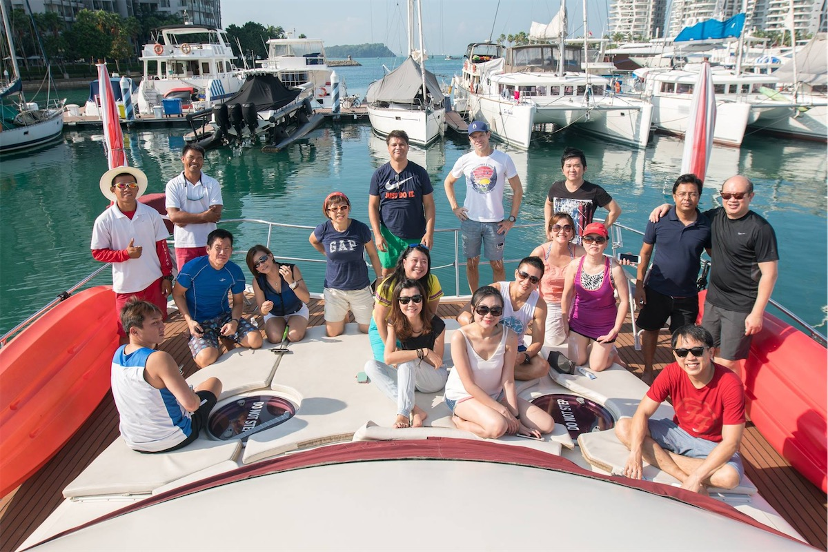 Corporate retreats are more fun on a yacht