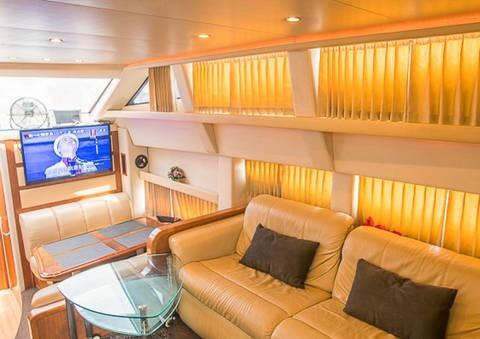 interior of Carver 43